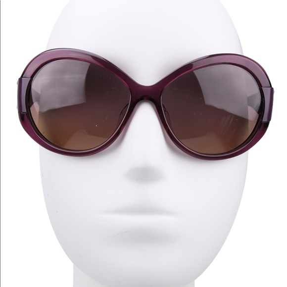 485702c8b498 MARC JACOBS WOMENS OVAL oversized SUNGLASSES wCase.  M 5c69d191951996f98d0396a6